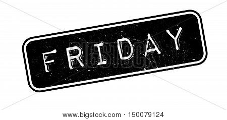 Friday Rubber Stamp