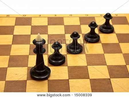 Chess And Board