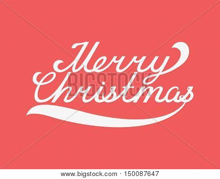 Christmas typography, handwriting, holidays  lettering for new year