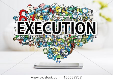 Execution Concept With Smartphone