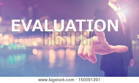 Evaluation Concept With Businessman