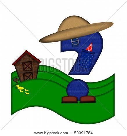 Alphabet Down On The Farm Question