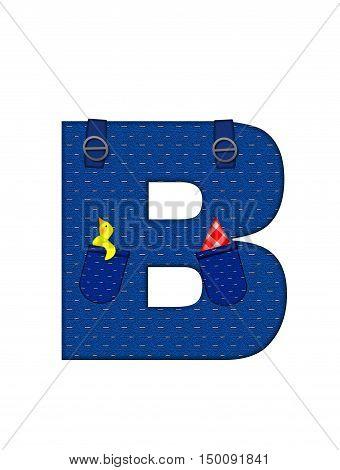 Alphabet Farmer Brown B