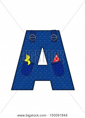 Alphabet Farmer Brown A