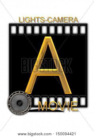 Alphabet Movie Buff A