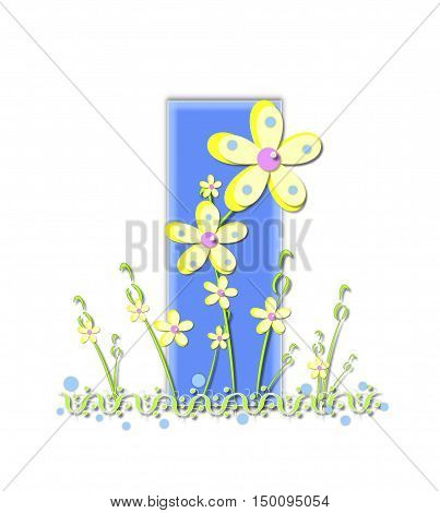Alphabet Yellow Daisies I