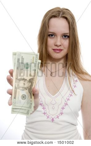 Women With Dollar