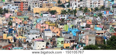 Visakhapatnam, INDIA - December 9 : Visakhapatnam is largest city in newly bifurcated Andhra Pradesh state in India, On December 9,2015 Visakhapatnam, India