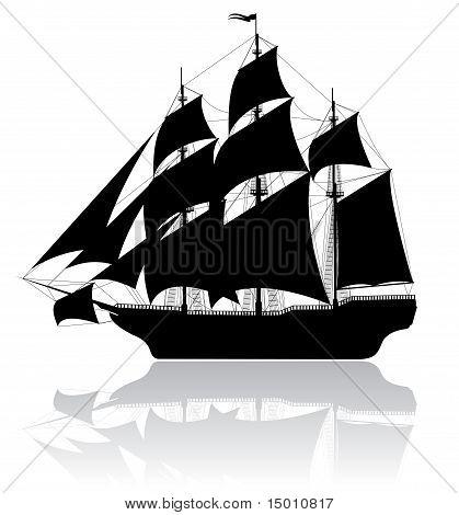 Black Old Ship