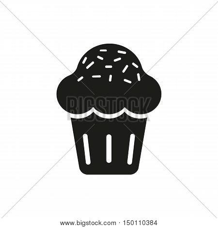 Sweet cupcake Icon Vector. Sweet cupcake Icon Art. Sweet cupcake Icon Image. Sweet cupcake Icon AI. Sweet cupcake Icon Drawing