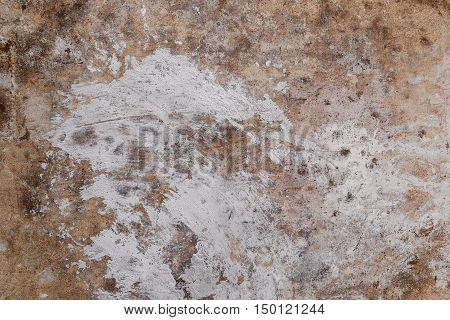 close up of old grunge concrete wall texture