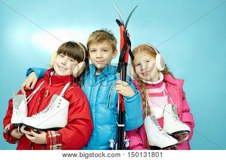 Winter sport for children