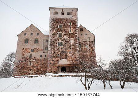 Main Facade Of Turku Castle