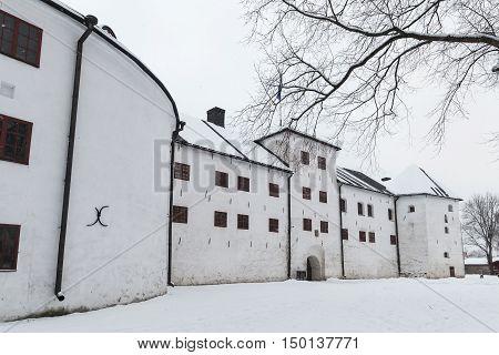 Turku Castle Bailey In Winter
