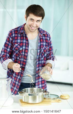 Cooking bachelor