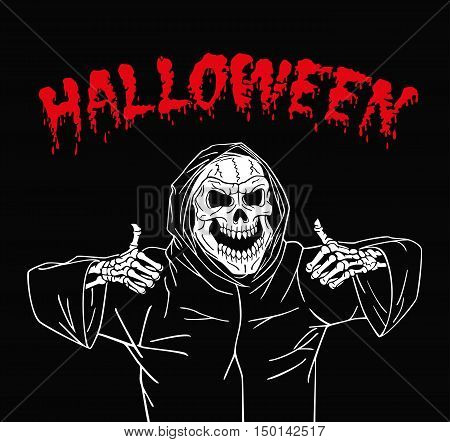 Dead invites everyone to have fun on Halloween.