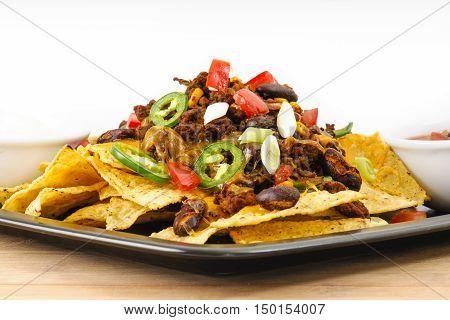 Chili-cheese Nacho Snack