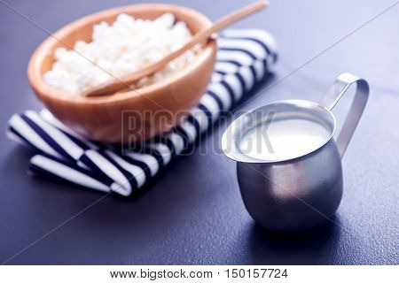 Fresh Milk And Cottage