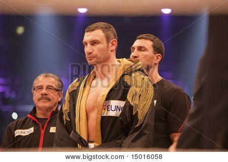 Vitali Klitschko In The Ring
