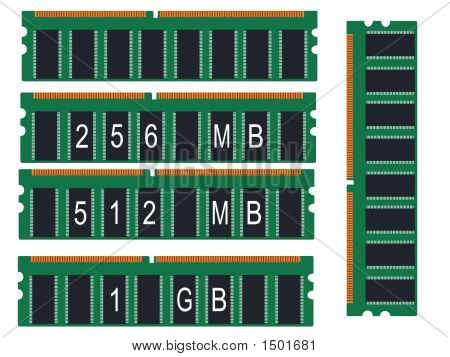 Computer Memory Illustration