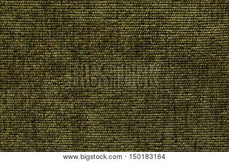 Dark green background from a soft textile material. sheathing fabric with natural texture. Cloth backdrop.