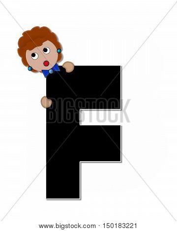 Alphabet Children Expressions F