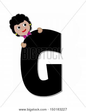 Alphabet Children Expressions G