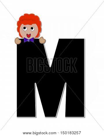 Alphabet Children Expressions M