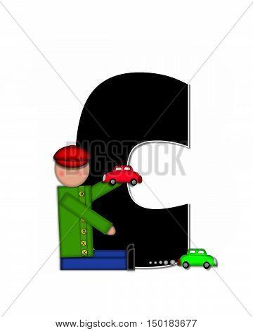 Alphabet Children Automobiles C
