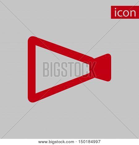 announcement icon stock vector illustration flat design