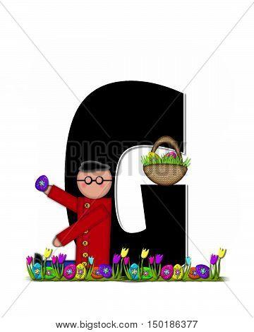 Alphabet Children Easter Egg Hunt G