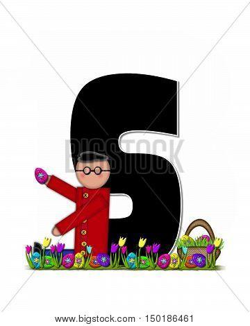 Alphabet Children Easter Egg Hunt S