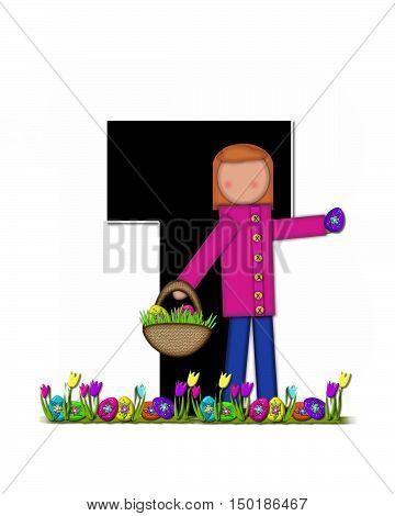 Alphabet Children Easter Egg Hunt T