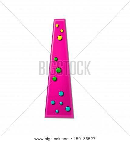 Alphabet Polka Dot Party I
