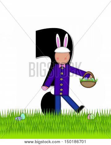 Alphabet Children Easter Eggs Question