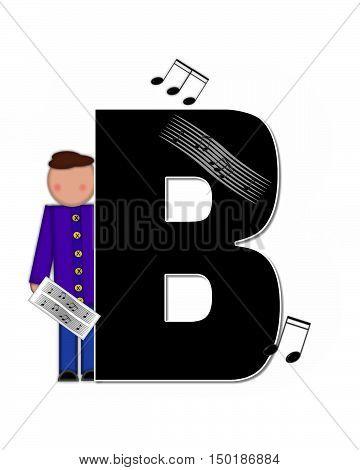 Alphabet Children Music B