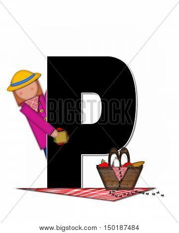 Alphabet Children Picnic P