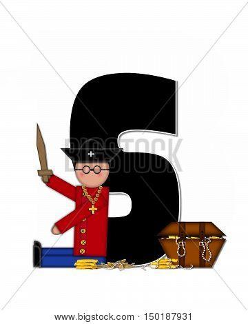 Alphabet Children Pirates S