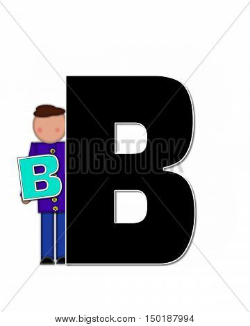 Alphabet Children Playing Abcs B