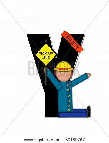 Alphabet Children School Patrol Y