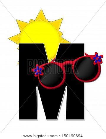 Alphabet Sun Shades M