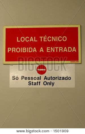 Staff Authorized