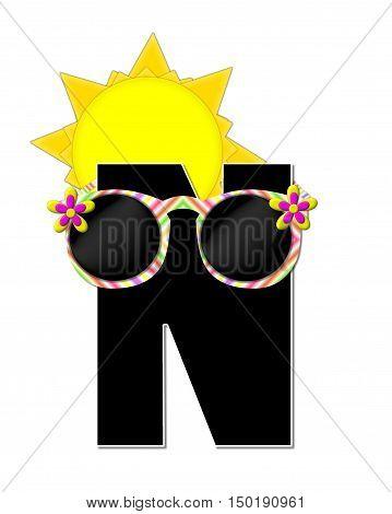 Alphabet Sun Shades N