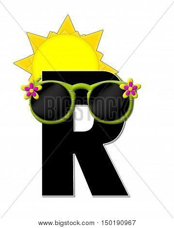Alphabet Sun Shades R
