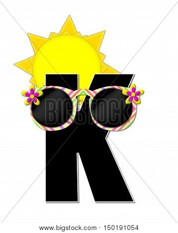Alphabet Sun Shades K