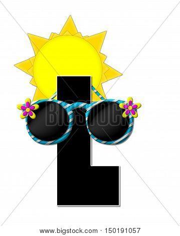 Alphabet Sun Shades L