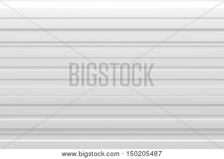 abstract white spike rhythm wave siding board background 3d rendering