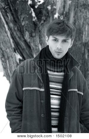 Porträt im Winter