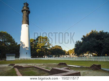 Lighthouse at Hunting Island State Park, South Carolina