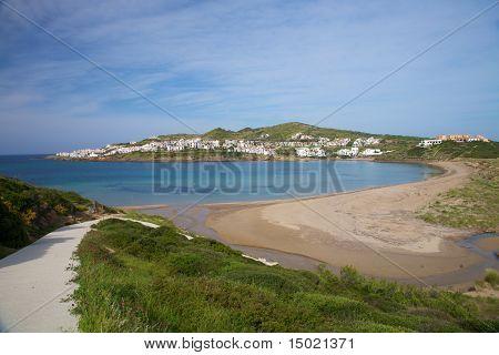 Tirant Beach At Menorca